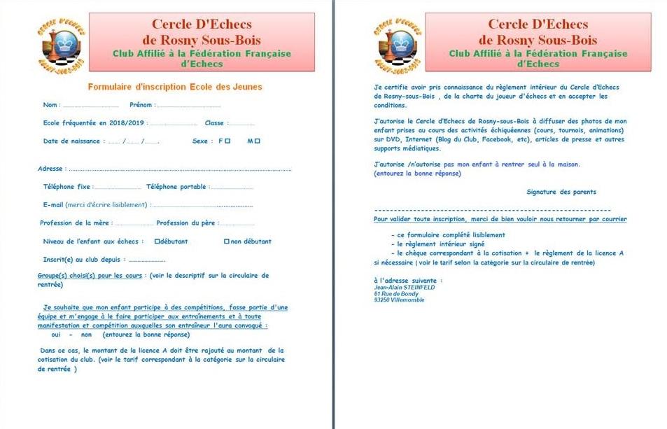 CERSB-Formulaire Jeune